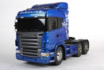 56327 Tamiya RC Scania R620 Highline Kit - Blue Edition 1/14th